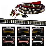 504LEDS Triple Row Tailgate Light Bar, 60 Inch Tail Strip Light Bar