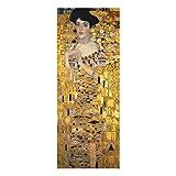 Bilderwelten Glasbild Echtglas - Gustav Klimt - Adele Bloch-Bauer I - Panel 125 x 50cm