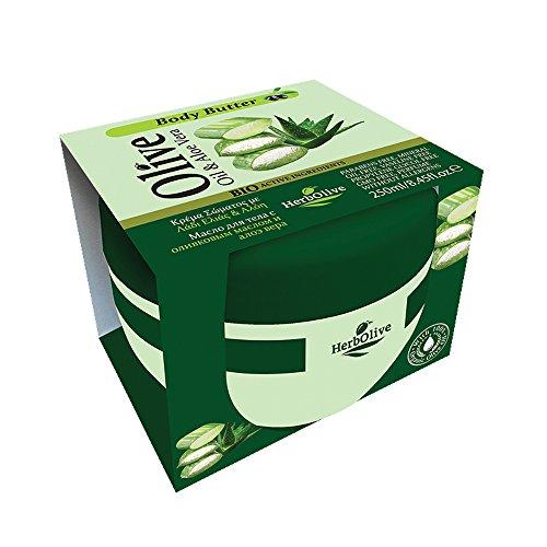 Herbolive Körperbutter mit Aloe Vera, 1er Pack (1 x 250 ml)