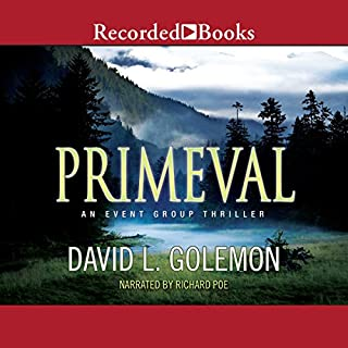 Primeval audiobook cover art