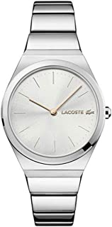 Lacoste Womens Quartz Watch, Analog Display and Stainless Steel Strap 2001054