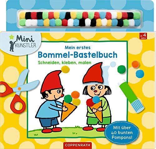 Mein erstes Bommel-Bastelbuch: Schneiden, kleben, malen (Mini-Künstler)