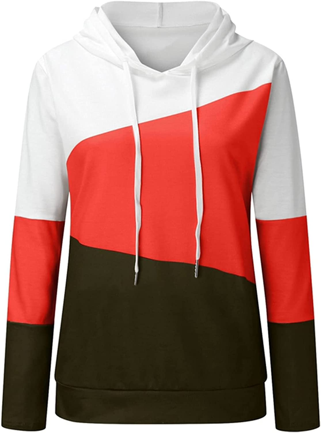 Women's New Free Shipping Fashion Splicing Ranking TOP4 Printing L Hoodies Lightweight Pullover