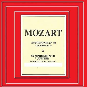 Mozart - Symphonie Nº 40, Nº 41