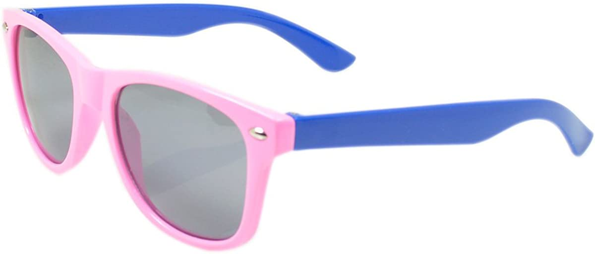 Inventory cleanup selling sale Very popular Kids 2-Tone Fashion 3-12 Sunglasses Age
