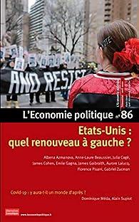 L'économie politique, n°86 par Revue L'économie politique
