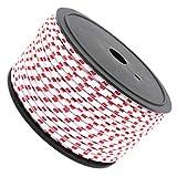 F Fityle 50m Leuchtende Reflektierende Zelt Seil Zeltseil Zeltschnur Camping Schnur