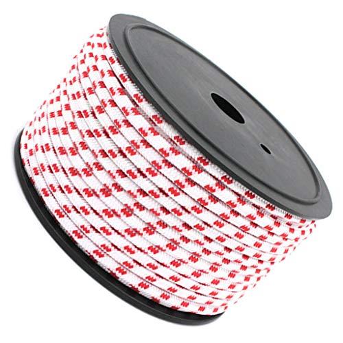 Toygogo - Cuerda para tienda de campaña, 50 cm, cuerda reflectante de 50 m, para tienda de campaña
