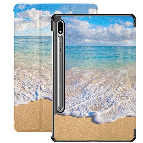 Hawaii Sunrise Landscape Galaxy Tab S7 Cover For Samsung Galaxy Tab S7/s7 Plus Samsung Tab A Case Stand Back Cover Galaxy S7 Plus Case For Galaxy Tab S7 11 Inch S7 Plus 12.4 Inch