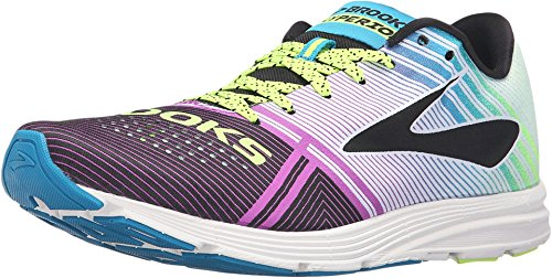 Brooks Women's Hyperion Tempo Running Shoes, Multicolor Imperial Purple Blue Jewel Nightlife, 7.5 UK