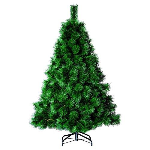 Roi des pins Sapin de Noël Artificiel Aiguilles Larges - H. 150 - Vert