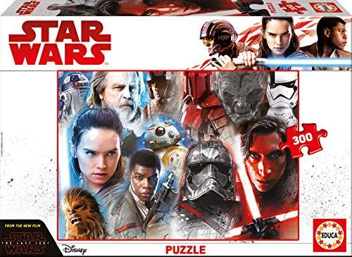 Educa Borrás- Star Wars Los Últimos Jedi Puzzle de 300 de Piezas (17463)