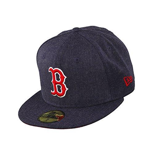 New era Boston Red Sox Basecap Heather Team Navy/Red - 7-56cm
