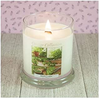 The Candle Cottage 508 Collage Candles with Wooden Wicks, 12 Oz (Herb Garden)