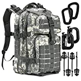 Tactical Backpack - 1000D Military Molle Army 3 Day Assault Pack Backpacks 40L (1 Pack ACU)