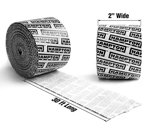(30ft) Self Adhesive Gauze Bandage Roll | Medical Stretch Wrap Tape - Sports Turf Body Tape for Knee Feet & Blister Wound Care | Cohesive Bandage Waterproof Gazuze Wrap for Football, Running & Hiking…