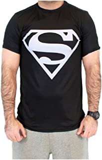 Best superman t shirt black and silver Reviews