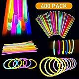 Glow Sticks Bulk 400pk 8' Glowsticks; Glow...