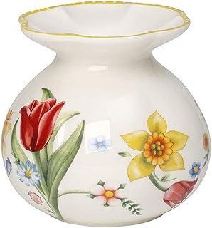 Villeroy & Boch Spring Awakening Vase, 10.5 cm, Porcelain, Yellow, Hard, Colourful, 10,5 cm