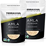 Terrasoul Superfoods Organic Amla Berry Powder (Amalaki), 2 Lbs - Rich in Antioxidant Vitamin C | Supports Immunity