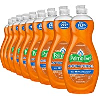 9-Pack Palmolive Antibacterial Ultra Liquid Dish Soap, 20 Fluid Ounce