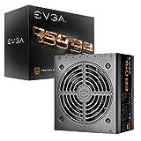 EVGA 750 B3, 80+ BRONZE 750W, Fully Modular, EVGA ECO Modo, 5 anni Garanzia, Compatto 160mm Misura, Alimentazione PC 220-B3-0750-V2