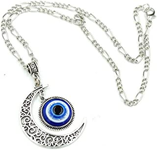Darkey Wang Teardrop Eyes Fashion Personality Charming Evil Eye Pendant Necklace Brings You Shining World