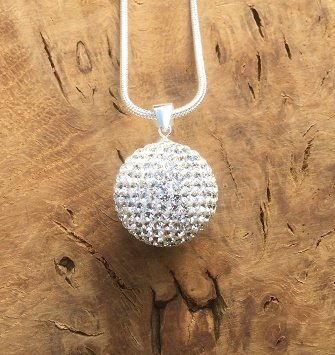 Crystal Bola l Harmony Ball Necklace Kit l 'Mexican Bola' l A Lovely Pregnancy Gift