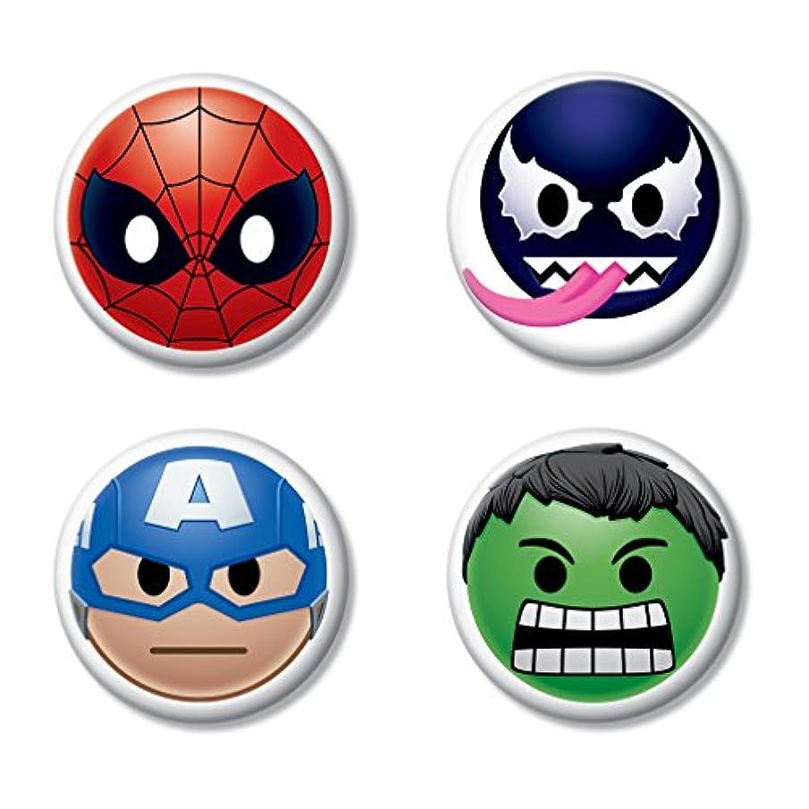 Ata-Boy Marvel Comics Emojis Assortment Set of 4 1.25