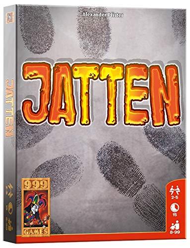 999 Games – Jatten Kaartspel – vanaf 8 jaar – Een van de beste spellen van 2017 – Alexander Pfister – Push your luck – voor 2 tot 5 spelers – 999-JAT01