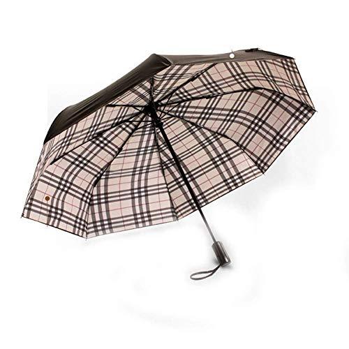 Paraguas Umbrella Umbrella se Abre automáticamente y el Paraguas Ligero a Prueba de Viento Aumenta la Resistencia a Las Salpicaduras para Hombres y Mujeres.