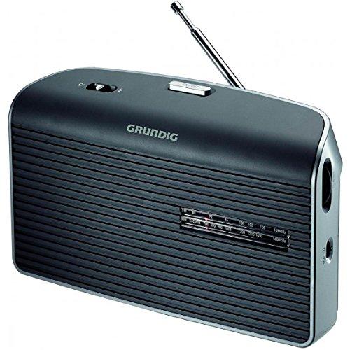Grundig Music 60 L Radio Tragbar Analog Grau - Radios (Tragbar, Analog, FM,LW,MW, 87,5-108 MHz, 148,5-283,5 kHz, 1-Weg)