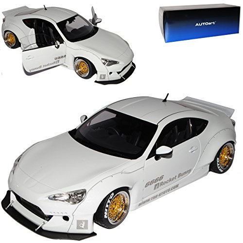 AUTOart Toyota GT86 Japan Tuning Coupe Weiss 78756 1/18 Modell Auto