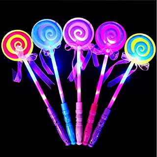 New Fashion Children Girls Princess Led Light Up Butterfly Magic Wand Sticks Flashing Glowing Sticks Party Cosplay Costume Props Halloween Costumes & Accessories Novelty & Special Use