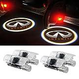 Moonet 4 x Door LED Courtesy Shadow Ghost Welcome Lamp Projector Light for Infiniti Ex Fx G M Series Q50 Q70 Q60 Q70 Qx50 QX56 QX80(pack of 4)