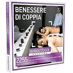 Idea Regalo - Smartbox - Benessere Di Coppia - 2255 Trattamenti Wellness, Cofanetto Regalo, Benessere