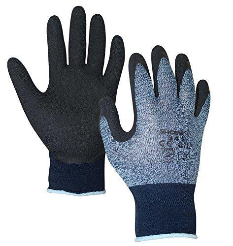10 Advanced Paar Sicherheit Showa Coated 341 atmungsaktives Grip Handschuhe Größe Arbeitskleidung - 6/klein