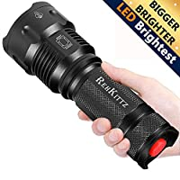 Linterna LED Alta Potencia Militar T6 de Enfoque Ajustable Impermeable de Tác...