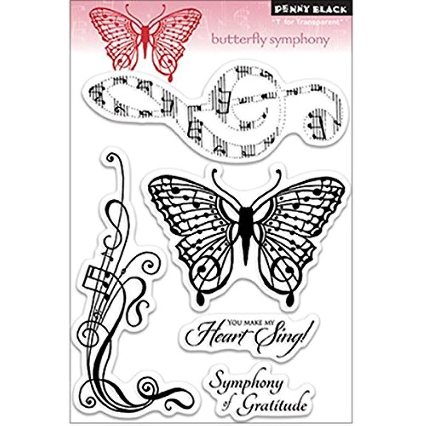 Penny Black 30-148 Clear Stamp, Butterfly Symphony