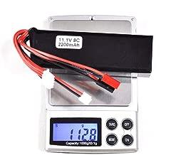 FidgetGear 11.1V 2200mAh Lipo Battery for Walkera DEVO 7 10 F12E / JR Futaba Transmitter RC