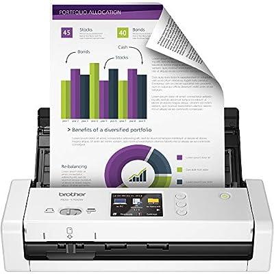Brother Wireless Compact Desktop Scanner