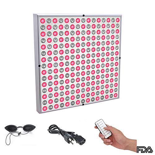 LXT PANDA Rotes LED-Lichttherapie-Panel mit Pulsfunktion, rotes 850-nm-Lichttherapiegerät (660 nm) für Anti-Aging, Fettabbau, Muskelaufbau, Leistung und Gehirnoptimierung.