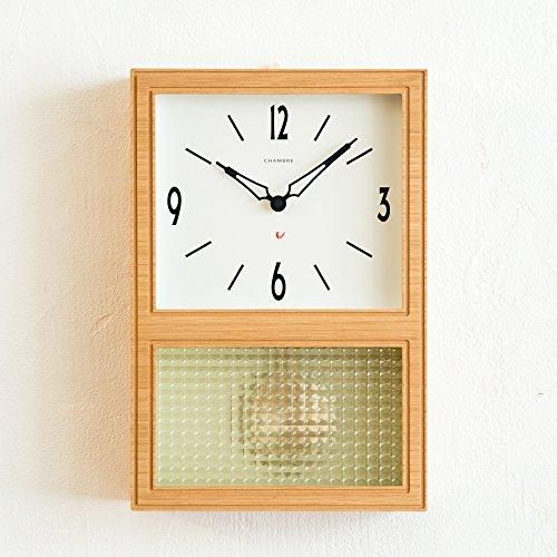 Chambre(シャンブル) 壁掛け時計 PENDULUM CLOCK OAK