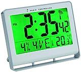 ALBA HORLCDNEO Horloge LCD Radio Controlée avec Fonction réveil