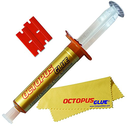 Octopus Glue - Liquid Optically Clear Adhesive (LOCA) - The Original Premium LOCA UV Glue (3 ml Single)