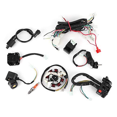 Piezas de motocicleta, arnés de cableado eléctrico, equipo de estator CDI para...