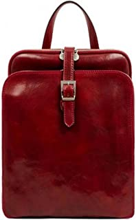 Time Resistance Mens Clarissa Backpack - Red