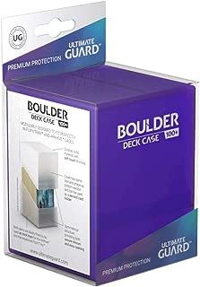 Ultimate Guard Boulder Deck Case 100+ Amethyst