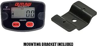 Outlaw Racing Digital Hour Meter w/ V2 Bracket Kit