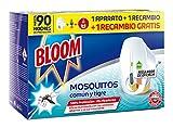 Bloom Insecticida Eléctrico Líquido Mosquitos - Aparato + 2 Recambios